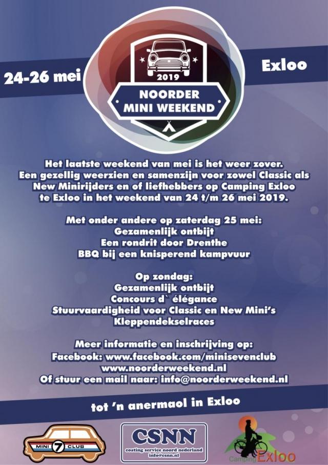 Flyer Noorderweekend 2019